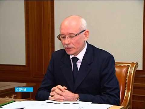 Встреча Путина В.В. и Хамитова Р.З.