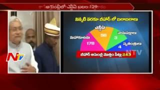 Political Drama in Bihar    Lalu Prasad Yadav Vs Nitish Kumar    NTV - NTVTELUGUHD