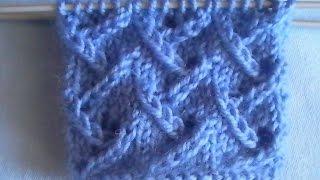 Вязание спицами: узор