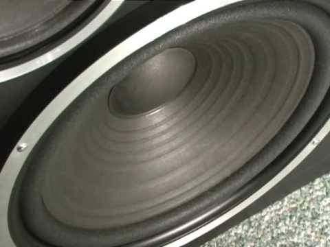 altus 140 po naprawie - praca głośnika niskotonowego i otworów stratnych
