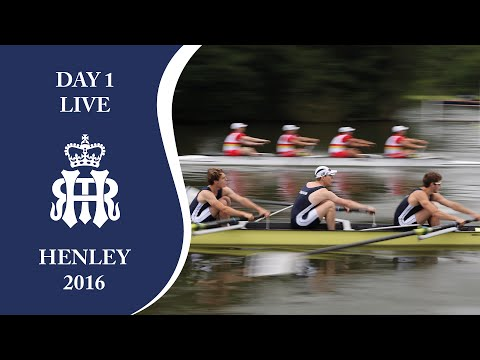 Day 1 Live | Henley Royal Regatta 2016