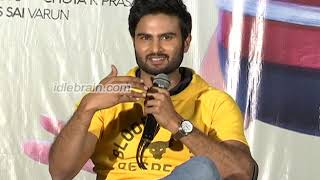Sudheer babu interview about Nannu Dochukunduvate Movie | idlebrain.com - IDLEBRAINLIVE