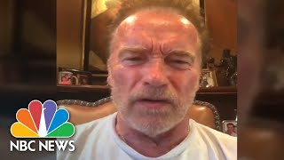 Schwarzenegger Calls Trump 'A Little Wet Noodle' And 'Fanboy' Over Putin News Conference | NBC News - NBCNEWS
