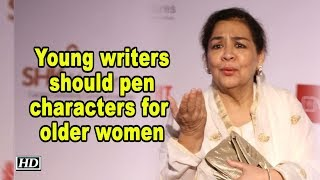 Young writers should pen characters for older women: Farida Jalal - IANSLIVE