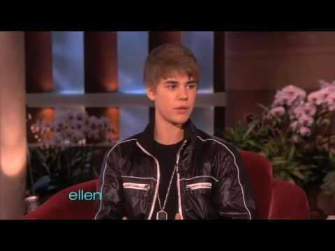Justin Bieber - Interview on Ellen DeGeneres Show 2011 - He is Just a Normal Guy