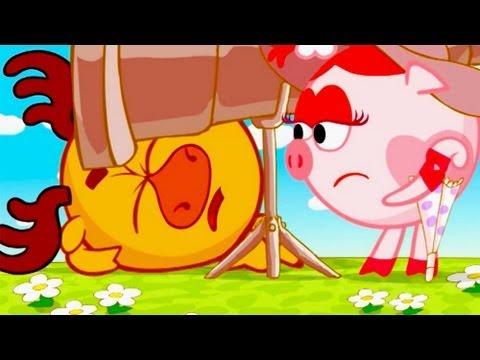 Кадр из мультфильма «Смешарики : Инкогнито»