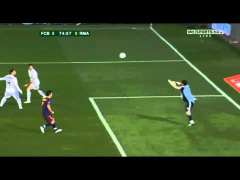 Copa del rey final - Real Madrid Iker casillas saves