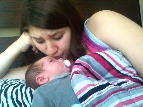 Day in the life of a teen mom ( With Newborn)