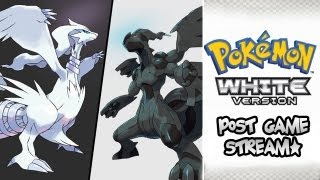 Pokemon White Post-Game Livestream Highlights! - 2 - LEGENDARIES ARE SO COOL!