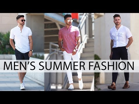 3 EASY SUMMER OUTFITS FOR MEN 2018 | MEN'S FASHION & STYLE INSPIRATION LOOKBOOK | Alex Costa