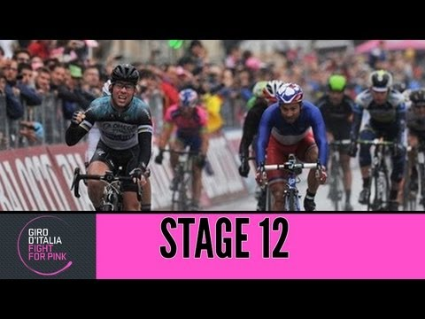 Giro d'Italia 2013 Tappa / Stage 12 Official Highlights