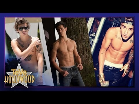 6 Sin Camisas Más Sexy de Hollywood!