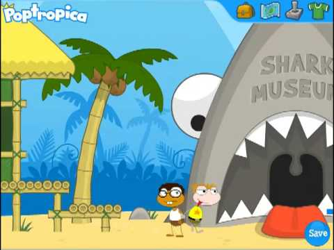 poptropica shark tooth island full