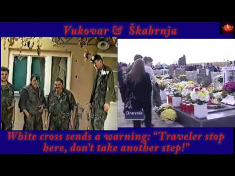 Vukovar & Skabrnja-Thompson- Bijeli Kriz (English Lyrics) Marko Perkovic