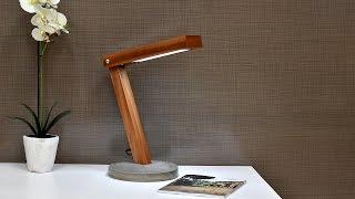 Lámpara de LED con un estilo rústico muy fácil de hacer!!