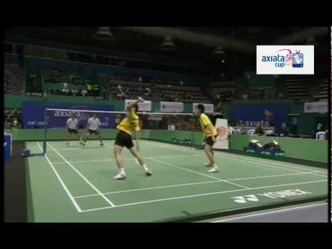 Vivas/Estanislao vs Lim/Goh - Day 1 (Group K) - Axiata Cup 2012