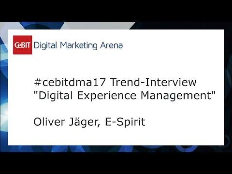 #cebitdmx17 Interview Oliver Jäger, E-Spirit