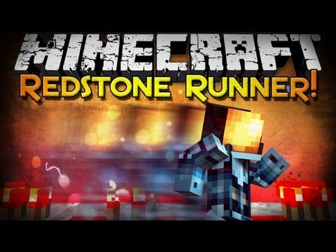 Minecraft: Redstone Runner - A Race Against Redstone! (Parkour Map)