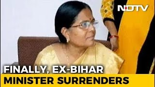 Ex-Bihar Minister Manju Verma, Missing For Weeks, Surrenders In Court - NDTV