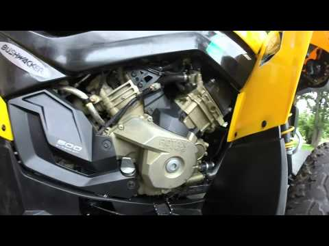 Can am Renegade G2 oil change