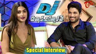 DJ Duvvada Jagannadham | Allu Arjun, Pooja Hegde Special Interview | #DJ - TELUGUONE