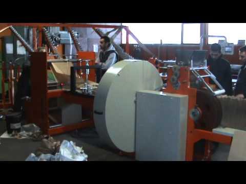 Paper bag machine K - 30ES (with servo motors), Masina za papirne kese K - 30ES (sa servo motorom)