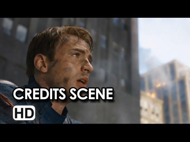 The Avengers - Shawarma Post Credits Scene (2012)