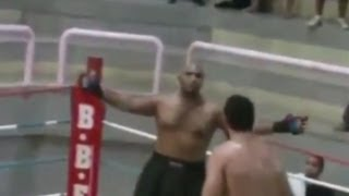 Cocky MMA Fighter Gets Knocked Out