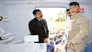 AP CM Chandrababu Naidu launched an Oncology Bus of Manipal Hospitals | CVR NEWS - CVRNEWSOFFICIAL
