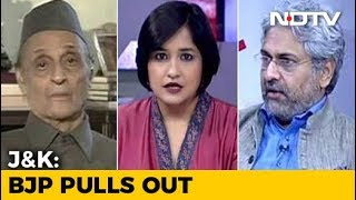 BJP Dumps PDP: What Next For Jammu And Kashmir? - NDTV