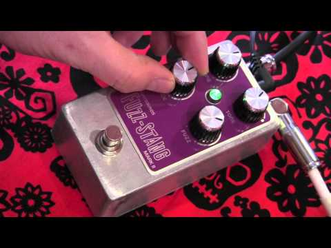 Wright Sounds Fuzz-Stang MK II guitar effects pedal demo