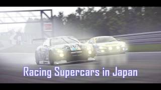 Royalty FreeRock:Racing Supercars in Japan
