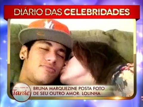 Bruna Marquezine, namorada de Neymar, divulga foto de outro amor