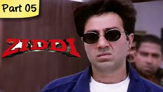 Ziddi (HD) - Part 05 of 15 - Superhit Blockbuster Action Movie - Sunny Deol, Raveena Tandon - RAJSHRI