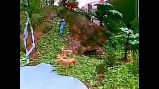 maqueta escolar de la selva