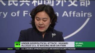 Under geopolitical attack: Huawei alleges US is waging war on firm - RUSSIATODAY