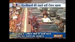 PM Modi inaugurates Eastern Peripheral, Delhi-Meerut Expressways - INDIATV