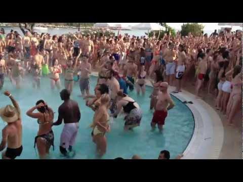 Pool Party, Rovinj, Croatia
