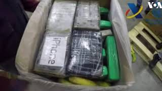 Massive Cocaine Shipment Found in Banana Truck - VOAVIDEO