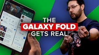 The Galaxy Fold gets real (Alphabet City) - CNETTV