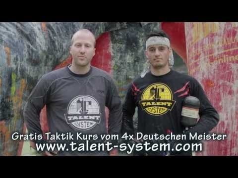 Talent System Paintball - Ultimativer Taktik Crash Kurs - GRATIS