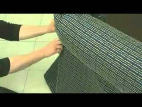 Creación de una funda de sofá parte 24