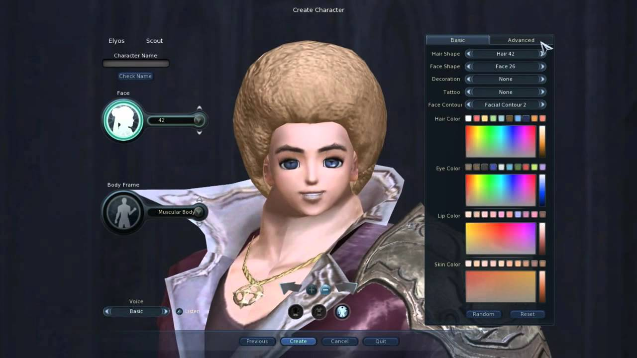 Aion's Character Customization Review