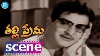 Thalli Prema Movie Scenes - Naghabhushanam Catches Venu And Lalitha Red-Handedly || NTR, Savitri - IDREAMMOVIES