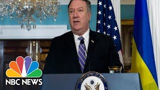 Watch Live: Secretary of State Mike Pompeo holds briefing - NBCNEWS