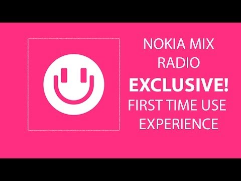 Nokia Mix Radio First Time Use Demo (MWC 2014)