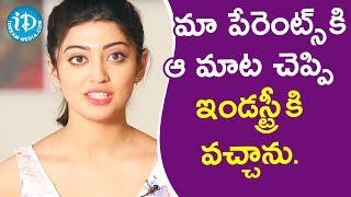 మా పేరెంట్స్ కి ఆ మాట చెప్పి ఇండస్ట్రీ కి వచ్చాను. - Actress Pranitha || Talking Movies With iDream - IDREAMMOVIES