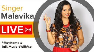 Singer Malavika LIVE Interaction With Fans | Stay Musical - MANGOMUSIC