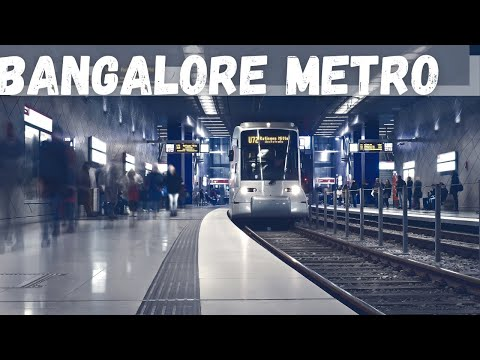 Bangalore Worldclass Metro Train Metro Station