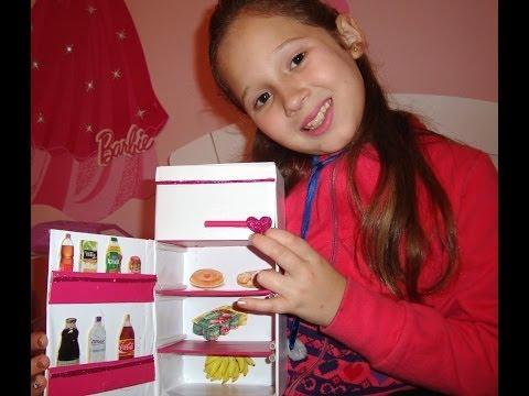 Tutorial: Geladeira para Barbie!!